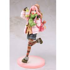 Yurucamp Laid Back Camp Nadeshiko Kagamihara With Led Lamp