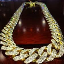 mega iced out cuban link chain sickadociousnesssss i want 1 just like it or 3 maybe jewelz gemstones gold chains jewelry and