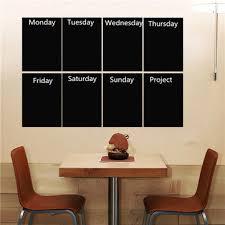 8pcs black a4 paper chalkboard wall