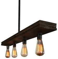 fayette wood light rustic chandeliers