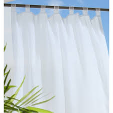 tab top sheer curtains. Commonwealth Escape Tab Top Sheers - White Sheer Curtains 4