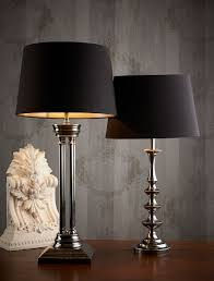 table lamps with black shades. Black Table Lamps Idea With Shades
