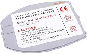 Power Battery for Sagem MY C3 My C3b ...