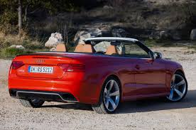 AudiBoost - 2013 Audi RS5 Cabriolet/Convertible set to go on sale ...