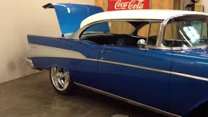 Pro Touring 1957 Chevy Bel Air - YouTube