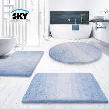 Badezimmerteppich 5 Größen 7 Farben Daytonde