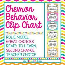 Chevron Behavior Clip Chart Behavior Clip Charts