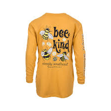 Simply Southern Size Chart Youth Simply Southern Bee Kind Tee Youth
