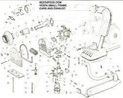 vespa part diagrams body work t5