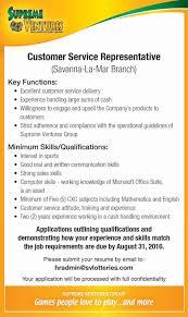 jobs postings caribbean customer service representative savanna jobs postings caribbean