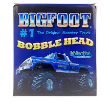 discovery bigfoot monster truck and racer bobblehead 2 pack 8731402 hsn
