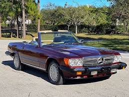 1987 mercedes benz 560sl two top convertible onyx black paint tan leather interior 5.6l v8 engine automatic transmission power brakes power steering 114,905 miles lots of service records regular oil changes scheduled tune ups recent. 1987 Mercedes Benz 560 Sl For Sale With Photos Carfax