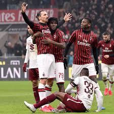 Rossoneri Round Up for Jan 29: AC Milan Beat Torino 4-2 In ...