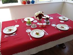 red and white table decorations. Great Christmas Table With Unique Green Ceramic Vase Combined Pink Red And White Decorations I