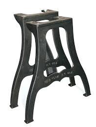 cast iron coffee table legs vintage s