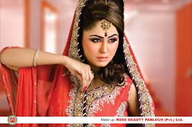 rose beauty parlor dulhan make over rose beauty parlor bridal makeup