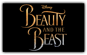 The Official logo for the live action Beauty and the Beast : disney