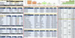 Personal Budget Spreadsheet Example Personal Budget Spreadsheet ...