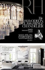 the 1920s odeon glass fringe chandelier