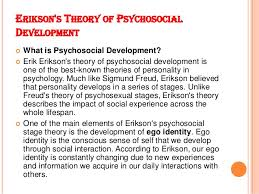 theories of human development 18 erikson s theory of psychosocial development