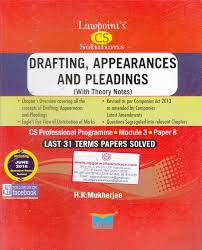 Pleadings Paper Lawpoints Drafting Appearances And Pleadings With Theory Notes For