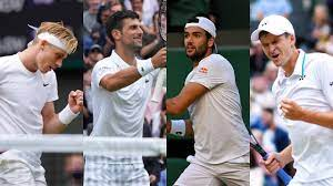 Spielplan der Männer für das Grand Slam Turnier Wimbledon 2021 in London -  Alle Spiele, alle Resultate von Wimbledon 2021 der Herren