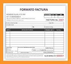 Formatos De Factura 9 10 Formatos De Factura Loginnelkriver Com