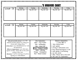 First Grade O W L S Editable Version Behavior Chart Log