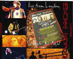 You give love a bad name 3. Bon Jovi Live From London Complete 3rd Night 2013 Cdr Discogs