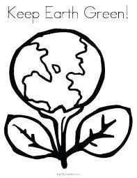 Coloring Page Earth Trustbanksurinamecom