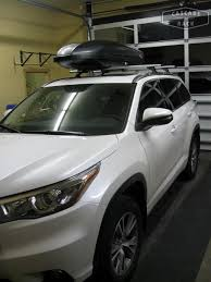 Base Rack and Cargo Box Installation – 2015 Toyota Highlander ...