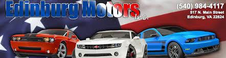 edinburg motors incorporated edinburg va read consumer reviews browse used and new cars