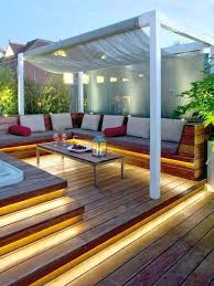 Backyard Deck Designs Plans Cool Decorating Design
