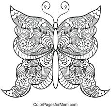 Coloring Pages Of Flowers And Butterflies Tonyshume