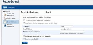 email teacher ccsd21 parent portal email in the parent portal