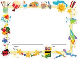 Preschool Page Borders Preschool Page Border Yolarcinetonic Ericn Us