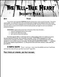 insanity plea the tell tale heart by edgar allan poe by arik  insanity plea the tell tale heart by edgar allan poe