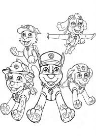 Small Picture Paw Patrol 62 Cartoons Printable coloring pages
