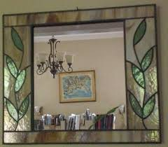 stained glass mirror mirror stained glass stained glass mosaic mirror frame