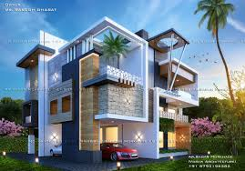 Elevation Design Photos Residential Houses Modern Residential House Bungalow Exterior By Ar Sagar