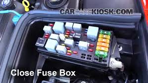 blown fuse check chevrolet corvette chevrolet 6 replace cover secure the cover and test component