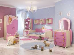 Bedroom  Attractive Cool Painting Polka Dot Interior Wall Design Baby Girl Room Paint Designs