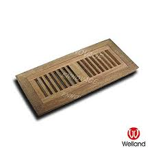 welland 2 inch x 12 inch aru hardwood vent floor register flush mount unfinished