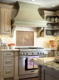 French Country Hoods | Traditional Kitchen Hood With Arched Lines, Clean  Angles And Well .