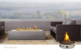 napoleon outdoor fireplaces patioflames linear