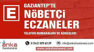 30 Nisan 2021 - Gaziantep Nöbetçi Eczane Listesi - Gaziantep Haberleri
