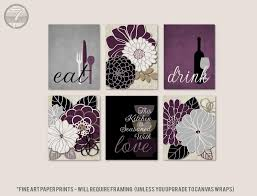 Apply to rustic pallet wood for a beautiful wall art, apply to glass and frame, apply to any type of blanks sold at art and crafts supply stores for that personal touch. Rustic Kitchen Wall Art Eat Drink Love Floral Kitchen Art Etsy Rustic Kitchen Wall Art Kitchen Wall Art Art Print Set