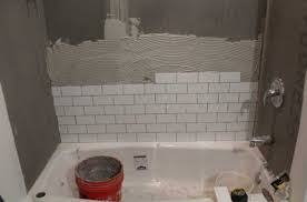 tiling a shower wall with white ceramic tile color ideas home regard to walls plans 10