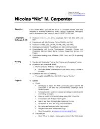 Carpenter Resume Example Framing Resume Sample Best Carpenters