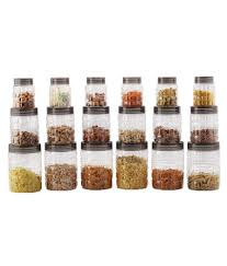 Cello Checkers PET Food Container Set of 18: Buy Online at Best Price in India - Snapdeal